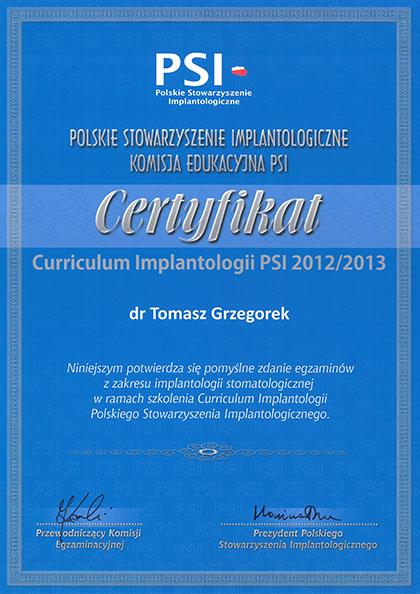 certyfikat Impla 04