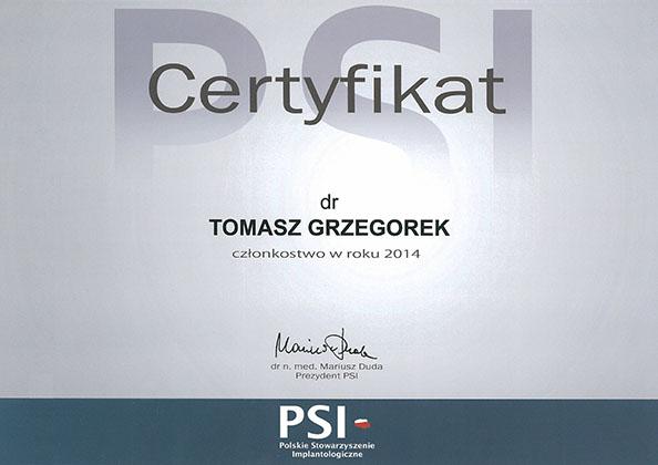 certyfikat Impla 23